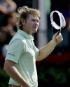 Golf: With one round to play, Snedeker, Rose tied at top