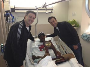Photos: Louisville's Kevin Ware recovering