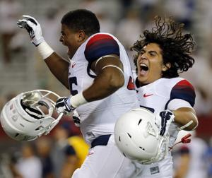 Arizona football: Friekh's biggest fan watching from afar