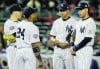 New York batters baffled in Game 1