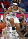 Poor first half dooms UA women in opener