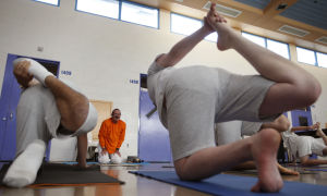 Yoga program helps youths in detention find peace