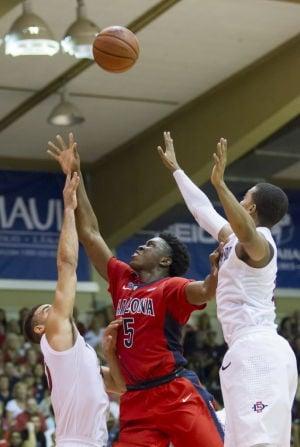 UA basketball: Johnson getting feel of college hoops