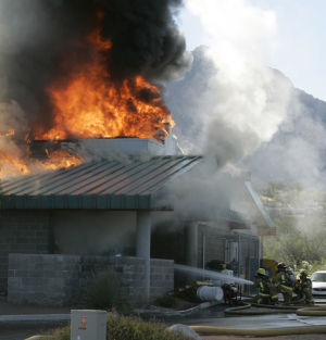 2006 fire under NTSB scrutiny