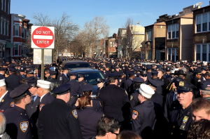 Two Tucson police officers attend NYC funeral