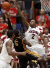 No. 8 Arizona 63, Southern Mississippi 55 A game to be forgotten