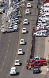 Prescott firefighters begin final journey