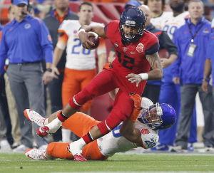 Arizona football: Solomon wants to be stronger, smarter
