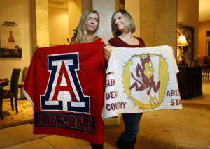 House divided: Twins declare opposing sports loyalties