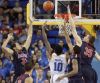 UCLA 74, Arizona 69 Free fall puts Cats 4th