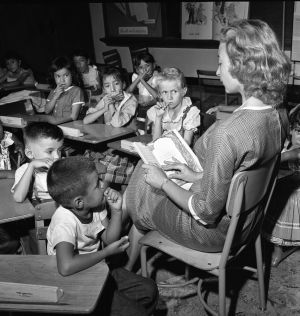 Photos: First day for new teacher in 1960