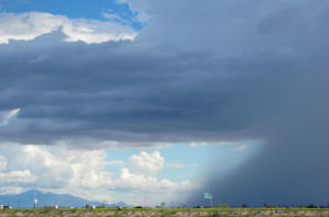 POTD: A clear, cloudy, stormy afternoon in Tucson