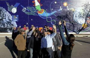 Artists explore asteroid