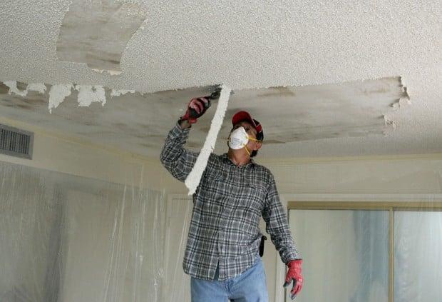when you 39 ve lost your taste for popcorn ceilings. Black Bedroom Furniture Sets. Home Design Ideas