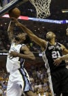 NBA Spurs 104, Grizzlies 93 Spurs grind back to go ahead 3-0