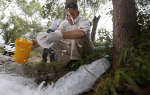 Mexican authorities pinpoint cause of mine spill