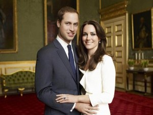 The royal wedding of Prince William and Kate Middleton