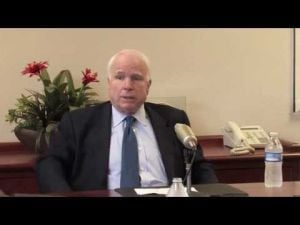 Video: McCain on the quality of Tucson's VA