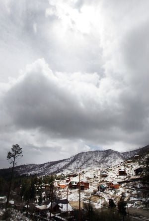 Photos: Snow on Mt. Lemmon
