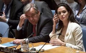 Jolie fustiga al Consejo de Seguridad ONU por crisis siria
