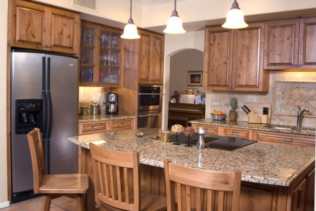 Use Builder Or High End Grade Replacement Kitchen Cabinets