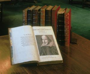 Shakespeare's First Folio will pay an extended visit to Tucson