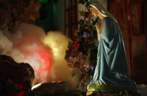 This Nativity scene is an 800-piece marvel