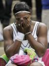 Wimbledon: Serena has a rare show of emotion after win