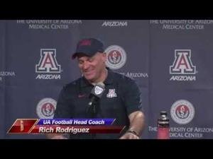 UA Football: Rich Rod and Players take questions