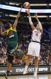 WNBA Playoffs: Mercury 92, Storm 83: Dupree scores 29 points as Phoenix evens series