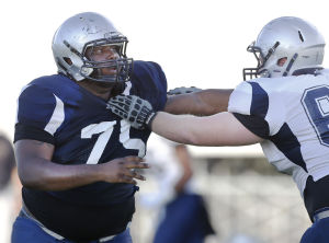Highly touted Curtis not the typical Pima lineman