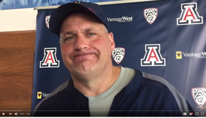 Watch: RichRod talks turnovers, previews UA pro day