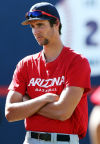Arizona Baseball 2 hurlers provide unexpected help
