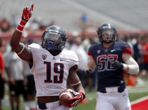 Photos: University of Arizona spring game