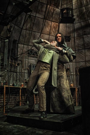 Review: Acting, staging bring weak 'Frankenstein' script to life