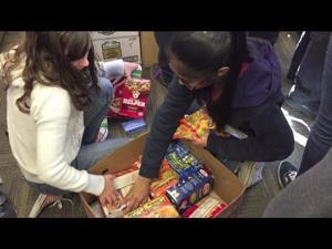 Tucson school collects 5,000+ canned foods for needy families