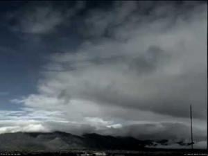 Watch the Tucson skies open up after today's rainfall