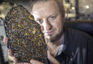 Photos: Meet the geology explorer and the meteorite hunter