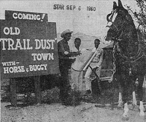 Coming soon! Old Trail Dust Town