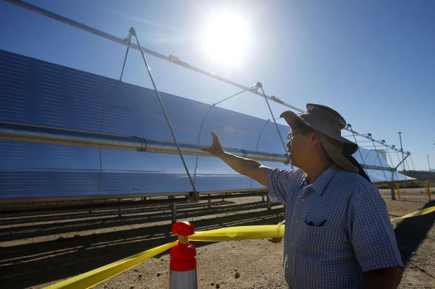 Photovoltaic system dedicated at UA Tech Park