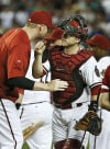 Diamondbacks 3, Phillies 2 Dropped in batting order, Montero saves the day