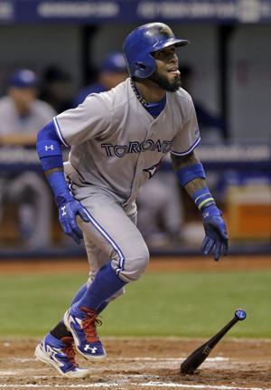 Reyes aporta jonrón a victoria de Azulejos