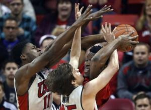 UNLV upsets Arizona 71-67