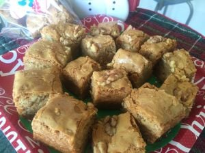 Blondies are brownies' yummy, nonchocolate brethren