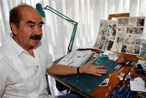 Muere Sixto Valencia, dibujante de Memín Pinguín