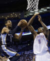 NBA playoffs: Grizzlies 99, Thunder 93: Conley carries Memphis