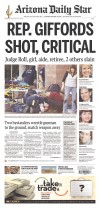 Gallery: Tucson shooting on newspaper front pages across the country, world