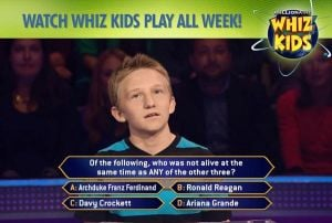 Basis student competes on Millionaire TV game show