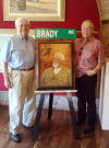 Brady Ave. is short; namesake had stature