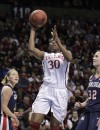 NCAA women Stanford in fourth straight Final Four